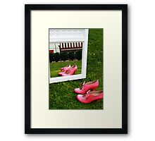 Pretty Pink Ribbon Framed Print