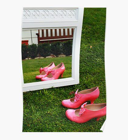 Pretty Pink Ribbon Poster