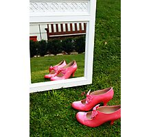 Pretty Pink Ribbon Photographic Print
