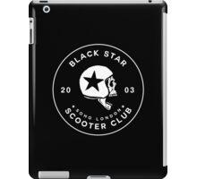 BLACK STAR SCOOTER CLUB  iPad Case/Skin