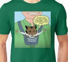Seeing-Eye Hamster Unisex T-Shirt