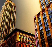 The Empire State Building by photographist