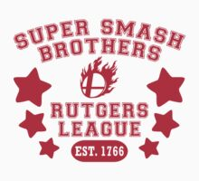 Super Smash Bros. Rutgers League Kids Tee