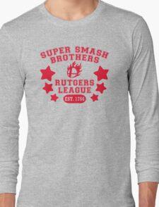 Super Smash Bros. Rutgers League Long Sleeve T-Shirt