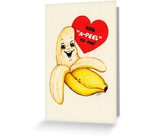 Banana Valentine Greeting Card