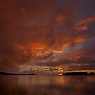 Sunrise in Bora Bora by Kim Roper