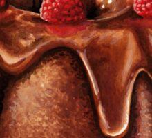 Chocolate Bundt Cake Pattern Sticker