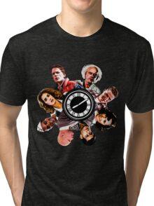 BTTF: Clock Tower MIX Tri-blend T-Shirt