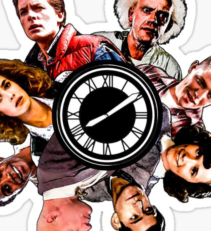 BTTF: Clock Tower MIX Sticker