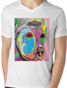 Lady Rottweiler Mens V-Neck T-Shirt