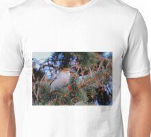Female Pine Grosbeak Unisex T-Shirt