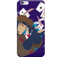 Minimalist Gambit X-Men iPhone Case/Skin