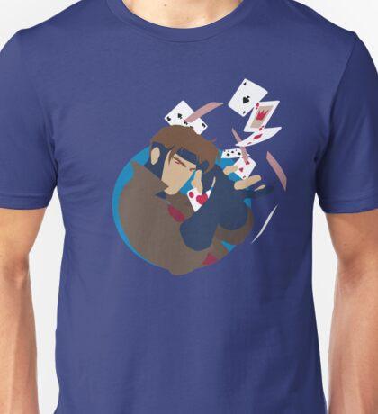 Minimalist Gambit X-Men Unisex T-Shirt