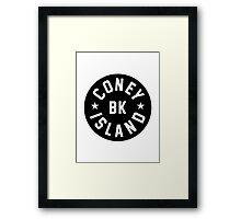 Coney Island Framed Print