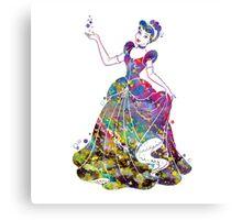 Cinderella Disney Princess Watercolor Canvas Print