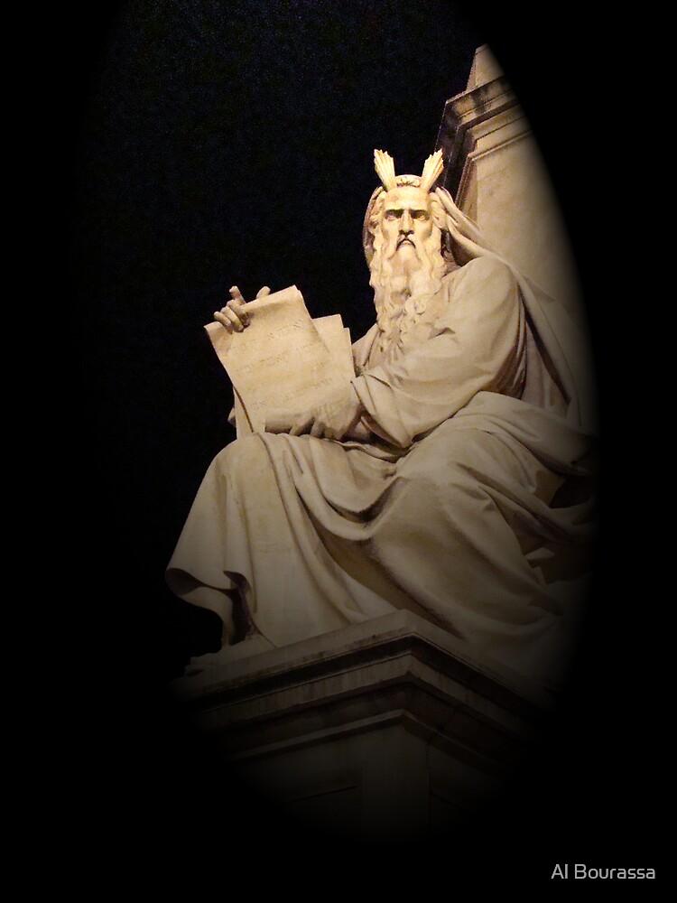 Angry Moses, Rome, Italy by Al Bourassa