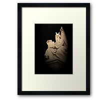 Angry Moses, Rome, Italy Framed Print