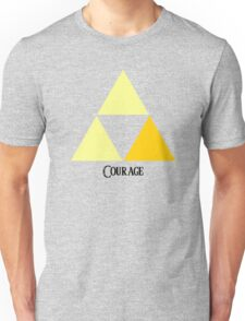 Triforce of Courage Unisex T-Shirt