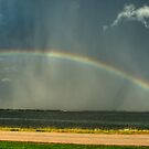 Lake Hefner Rainbow!  by Jeremy  Jones
