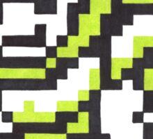 snake man Sticker