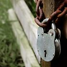 Padlock and Chain by Sarah-Jo Archbold