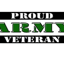 Proud Army Veteran by Buckwhite