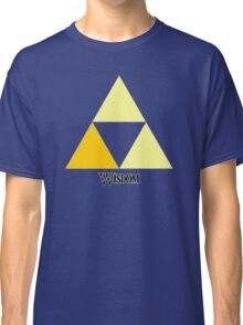 Triforce of Wisdom Classic T-Shirt