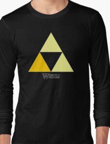 Triforce of Wisdom Long Sleeve T-Shirt