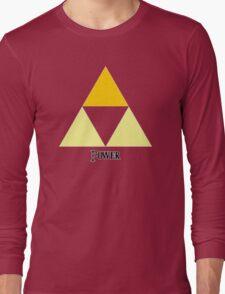 Triforce of Power Long Sleeve T-Shirt