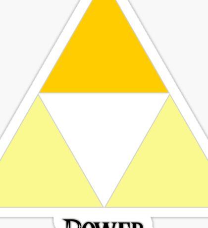 Triforce of Power Sticker