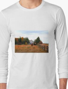 PASTORAL VIEW Long Sleeve T-Shirt