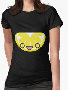 Lemon Slice Womens Fitted T-Shirt