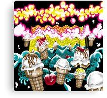 Ice Cream Dream2 Canvas Print