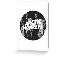 Arctic Monkeys Greeting Card