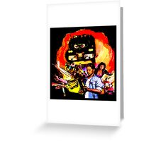 Imagine your worst nightmare: machines take over the world! Greeting Card