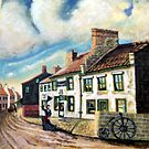 The angel inn corbbridge northumberland  U.K. by james thomas richardson