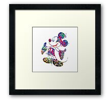 Mickey Mouse Disney Watercolor Framed Print