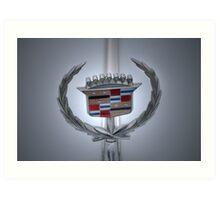 Cadillac Plaque Art Print