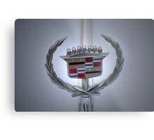 Cadillac Plaque Metal Print
