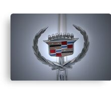 Cadillac Plaque Canvas Print