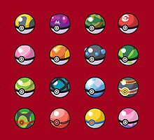 All PokéBall by razor93