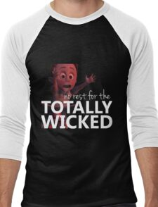 No Rest for the TOTALLY WICKED (white) Men's Baseball ¾ T-Shirt