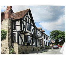 Warwick Cottages Poster