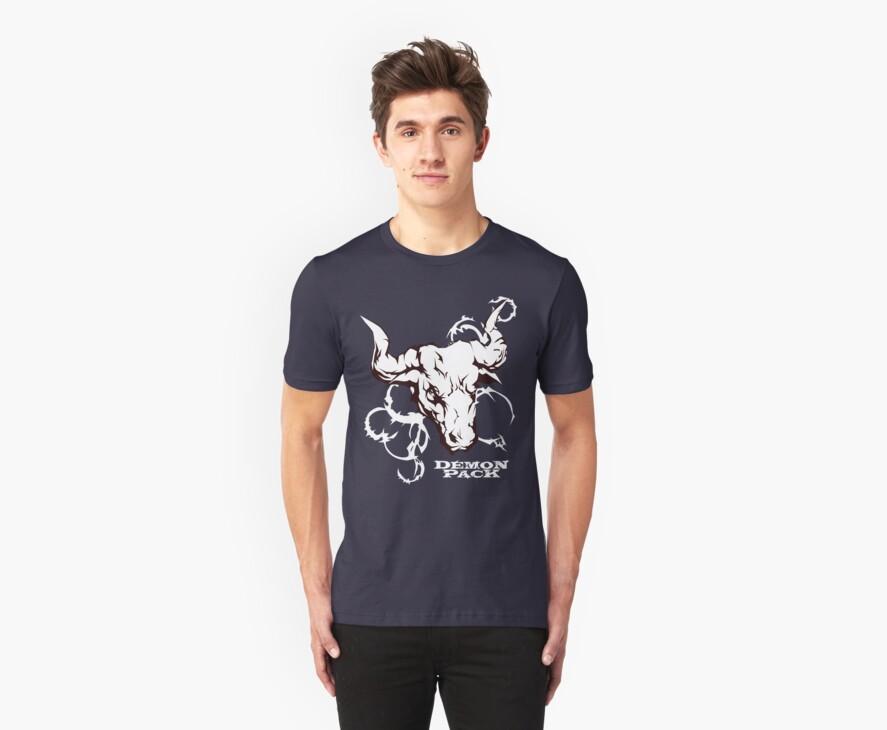 Demon Pack Bull Taurus Tribal Design by demonpack