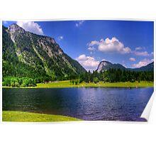 Lake Lödensee. Germany. Poster