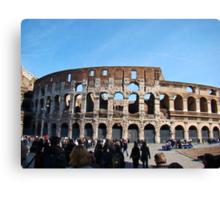 Roman Colosseum, Italy Canvas Print