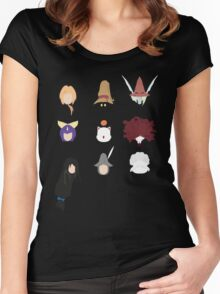 FFIX Party Faces Women's Fitted Scoop T-Shirt