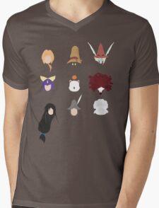 FFIX Party Faces Mens V-Neck T-Shirt