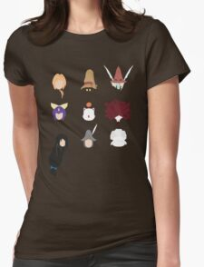 FFIX Party Faces Womens Fitted T-Shirt