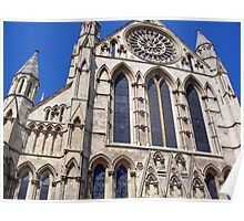 York Cathedral By Robert Beeton Poster